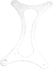 3d конструктор Slim Slice белый